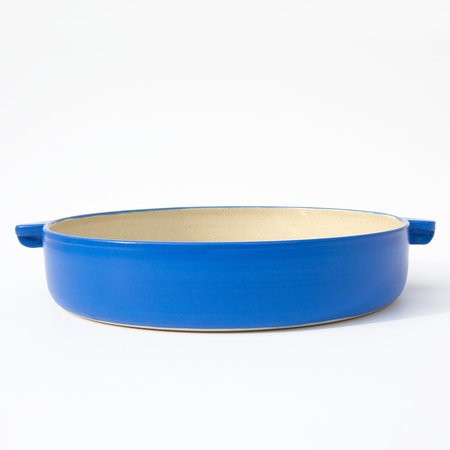 Workaday Handmade Large Blue Casserole