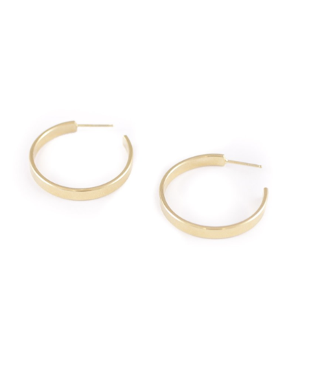 Wolf Circus Zella Hoops in Gold