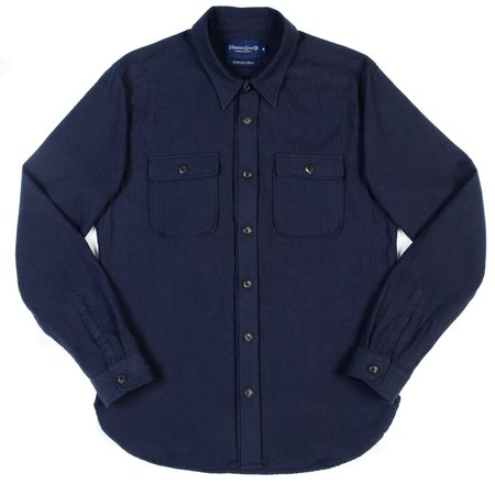 Freenote Cloth Gilroy Shirt - Navy