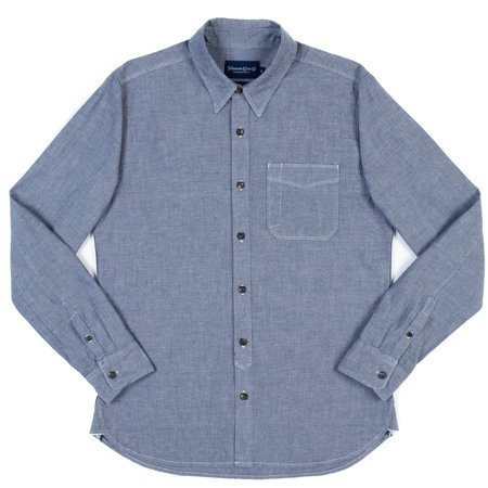 Freenote Cloth Parker Shirt - Blue