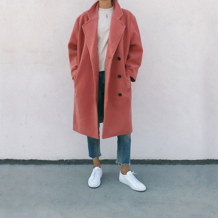 Perks and Mini Magma Conqueror Wool Coat
