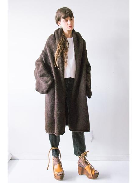 Lauren Manoogian Capote Coat - Chocolate