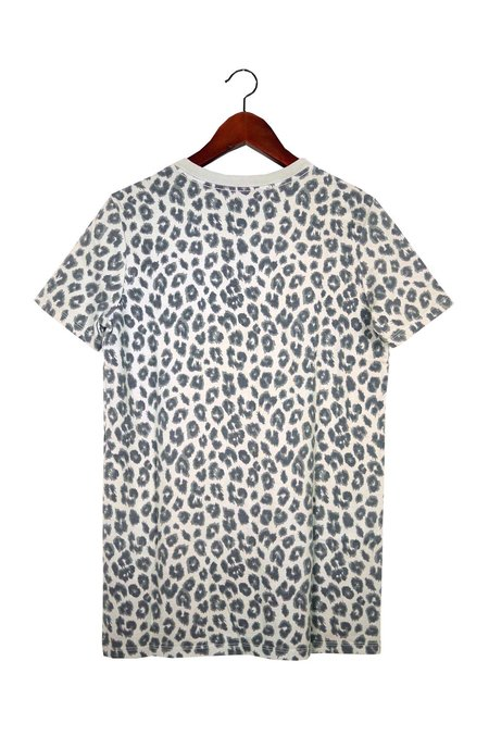 Skargorn #49 Short Sleeve Tee - Grey Leopard