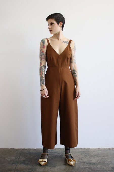 Ali Golden Grosgrain Jumpsuit