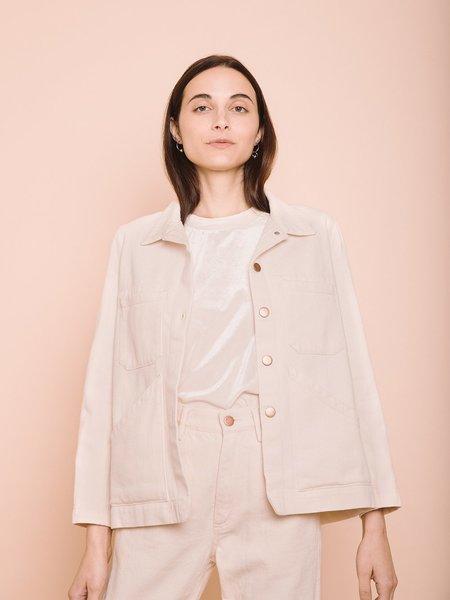 Carleen Triangle Pocket Jacket - Natural