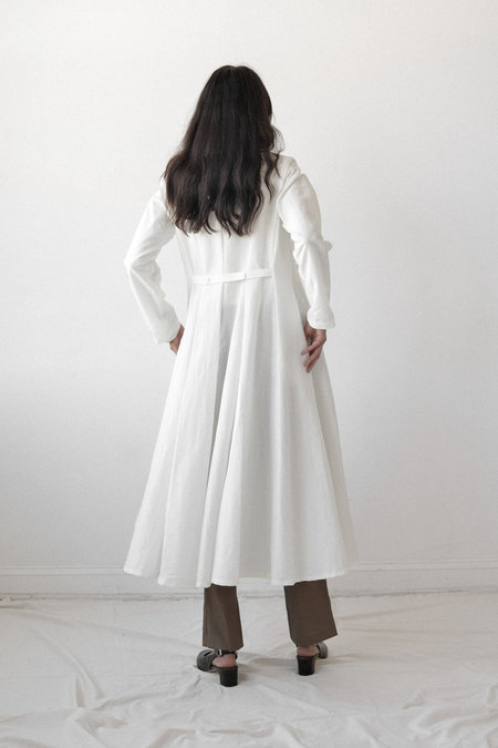 Nikki Chasin Baroness Dress in White
