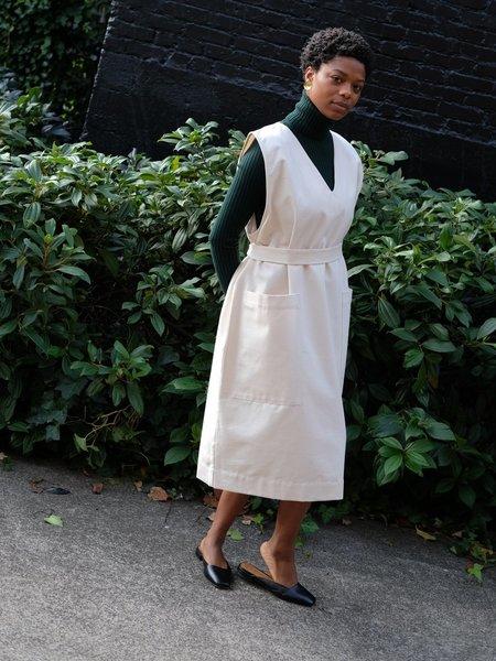 Sunja Link PULLOVER COTTON CANVAS DRESS