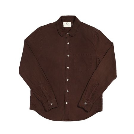 Olderbrother Classic Shirt - Chocolate Coffee