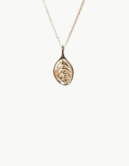 Kathryn Bentley Leaf Pendant