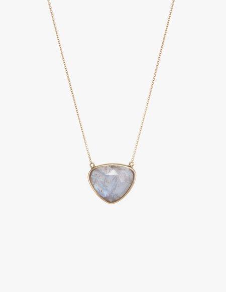 Kathryn Bentley Moonstone Slice Necklace