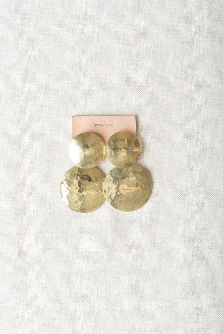 Crescioni Double Terra Earrings