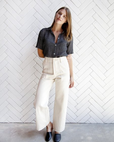 Esby Finch Pants - Natural Denim