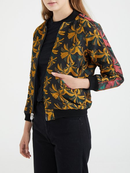 Nikki Chasin CAPTAIN REVERSIBLE BOMBER - DARK TROPICAL