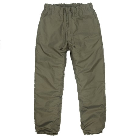 Monitaly Insulated Pants - Olive Poplin Vancloth
