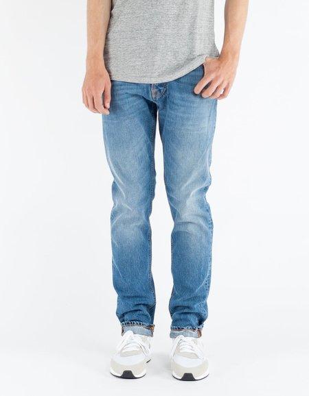 Nudie Fearless Freddy Shiny Indigo Jeans - Washed Indigo