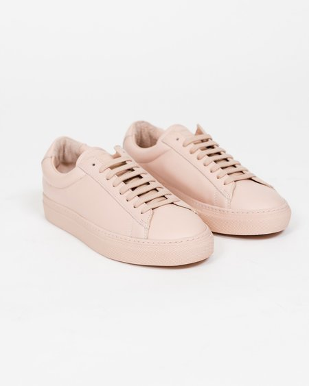 Zespa ZSP4 Leather Sneaker - Nude