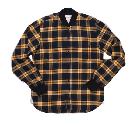 Universal Works Sport Shirt - Gold Himalaya Check