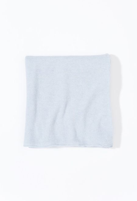 Samuji Cashmere Shawl - Light Blue