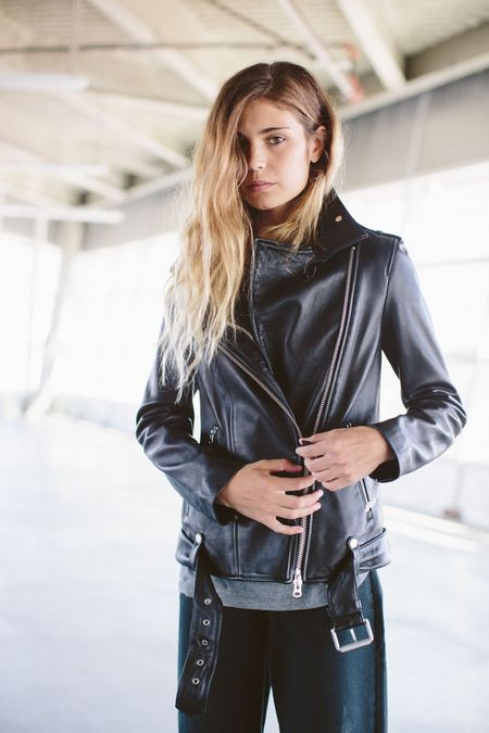 Mackage Selenia Leather Jacket