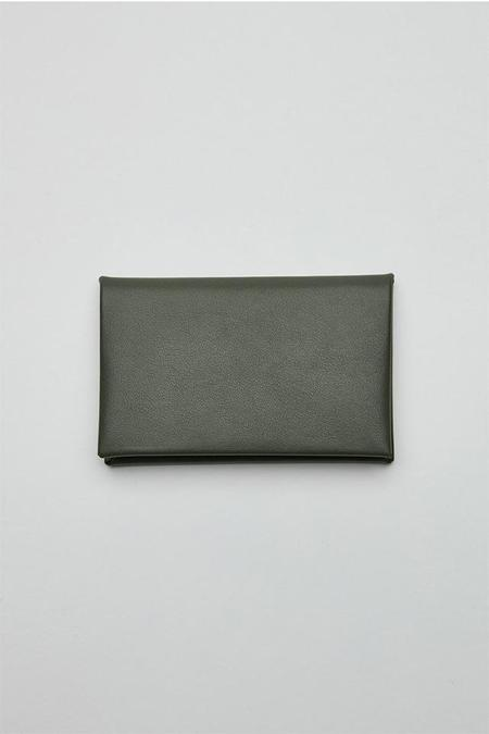 Our Legacy Chorus Bi Fold Cardholder - Military Green
