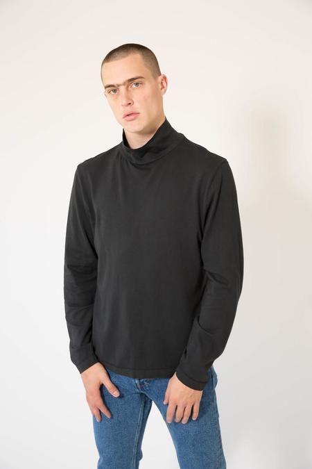 Our Legacy Turtleneck - Black Army Jersey