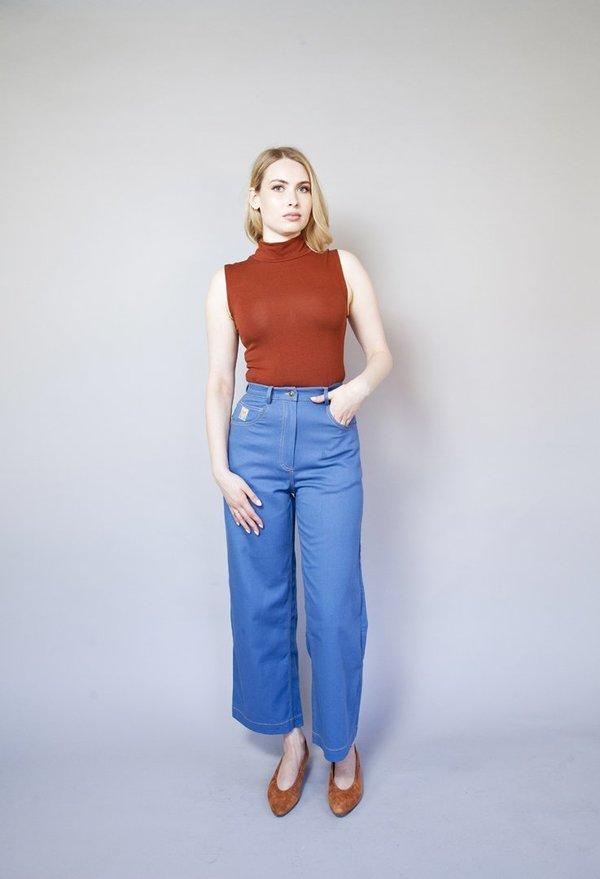 Samantha Pleet Post Jeans Postal - Blue