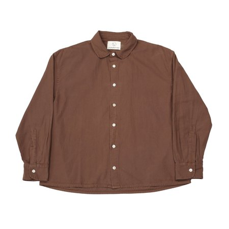 Olderbrother Anti-Fit Shirt - Chocolate Coffee