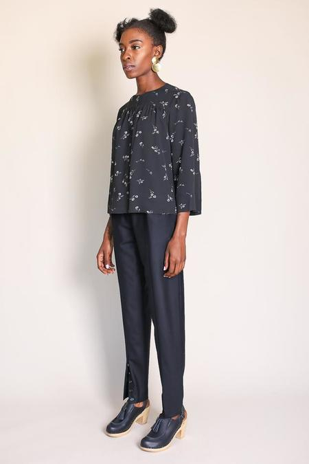Steven Alan Chicory Top in Chicory Floral