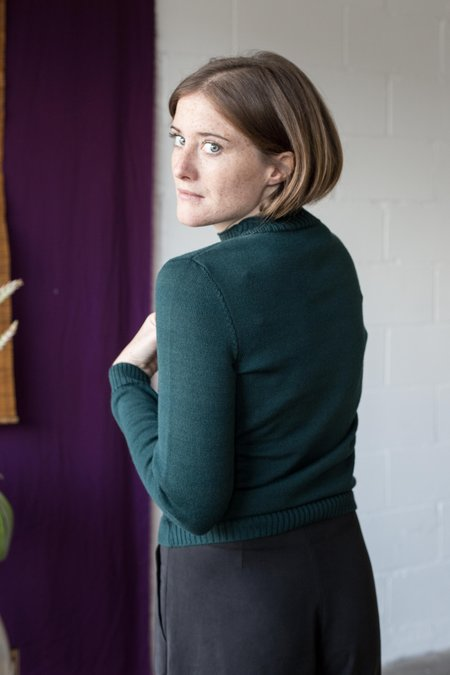 Betina Lou Denise Sweater - Emerald