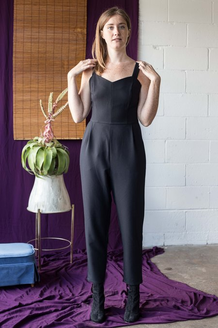 Birds of North America Shrike Jumpsuit - Navy