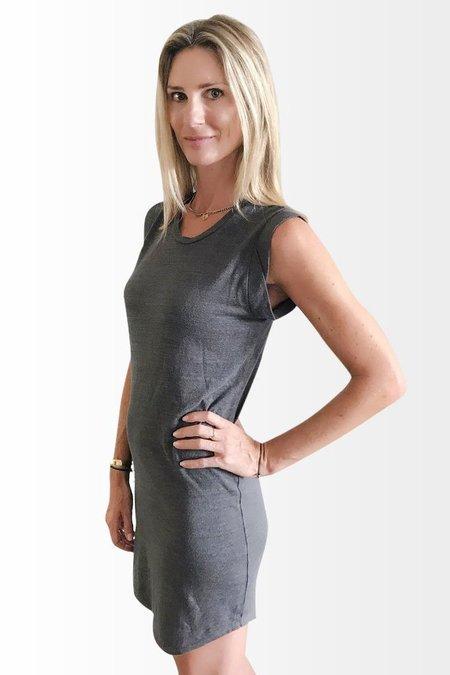 Road Twenty-Two Octavia Dress - Charcoal Gray