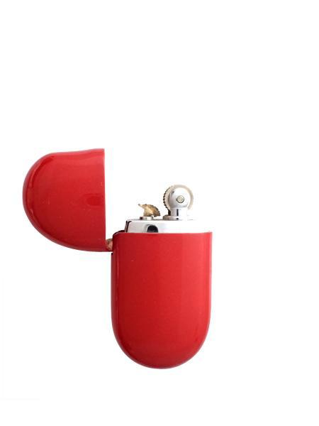 Beth Vintage Jewelry Elsa Peretti Flip Lighter / Red Lacquer