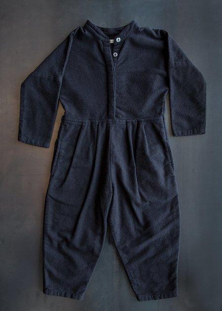 Kid's Black Crane Mini Jumper - Black