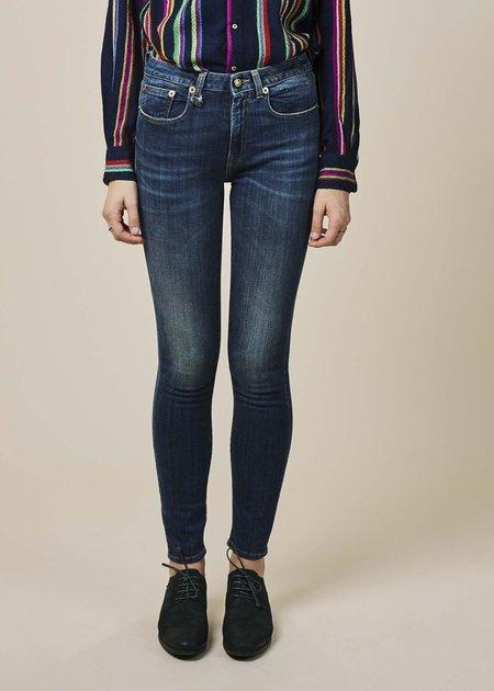 R13 Women's Jenny Mid Rise Jean