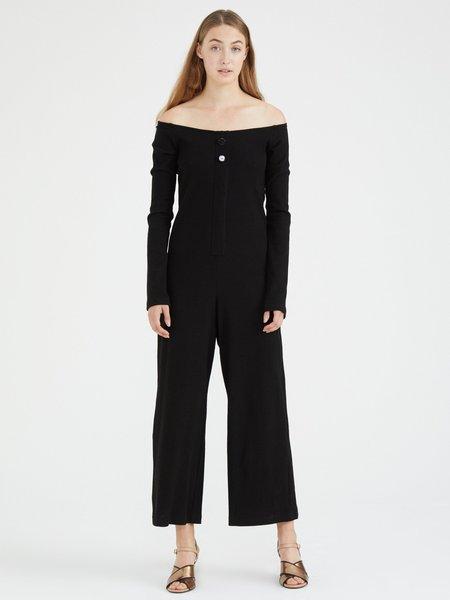 Delfina Balda Cata Knit Jumpsuit