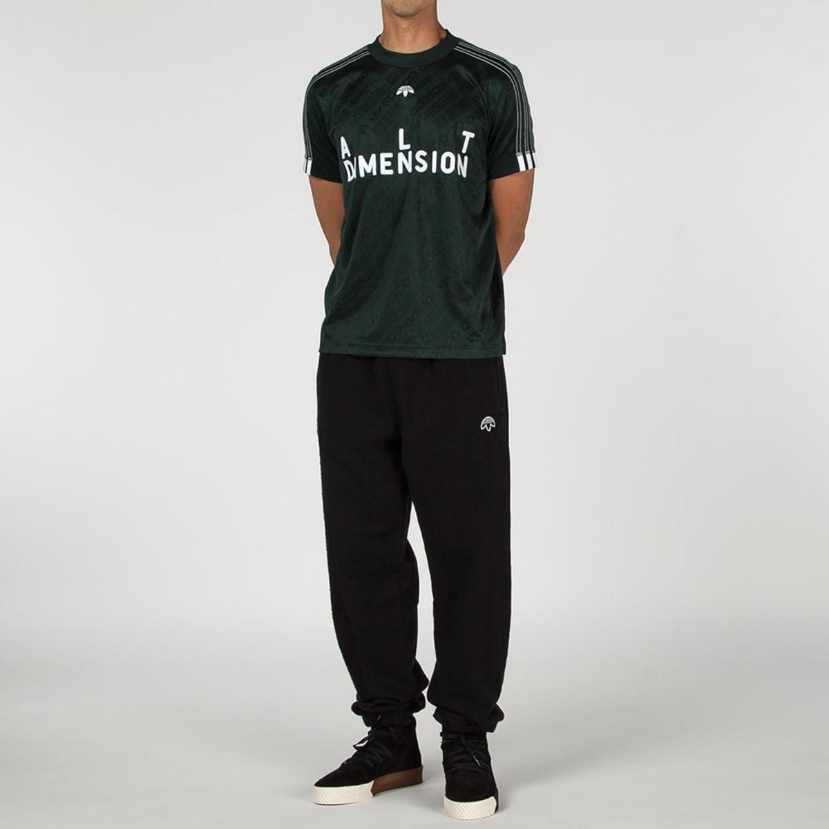 d2bf10c77 Adidas Originals By Alexander Wang Soccer Jersey II T-shirt - Green ...