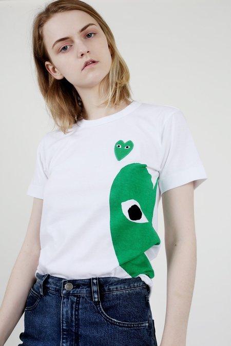 Comme des Garçons Play Green Heart T-Shirt