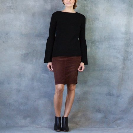 Line The Label Fiona Bell Sleeve Cashmere Sweater