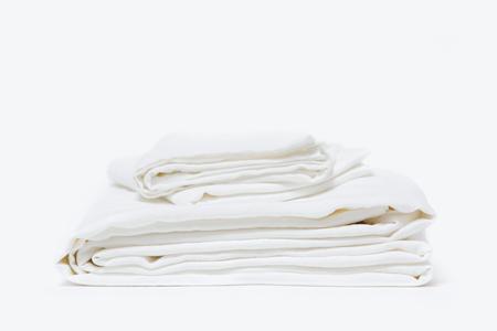 Morrow Heirloom French Linen Duvet Set - White