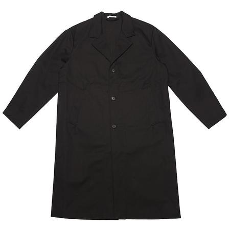 s.k. manor hill Drop Coat - Black Cotton (water resistant)