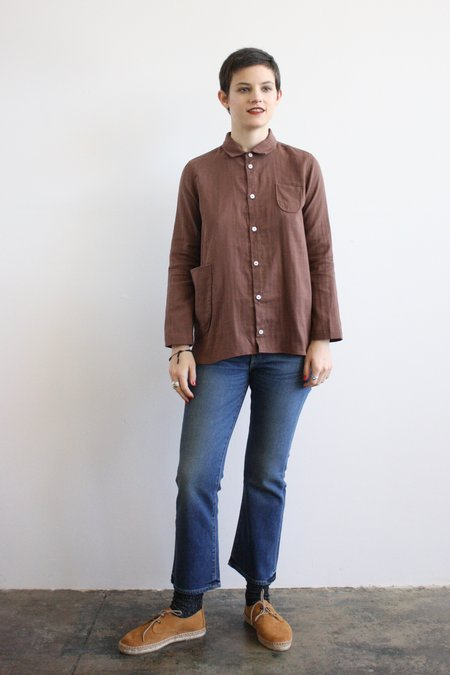 wrk-shp Atelier Shirt - Cocoa