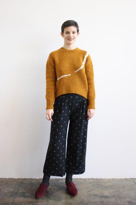 The Podolls Wide Leg Trouser - Eye Print