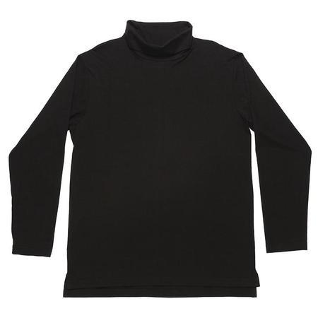 s.k. manor hill Long Sleeve Turtleneck T-shirt - Black
