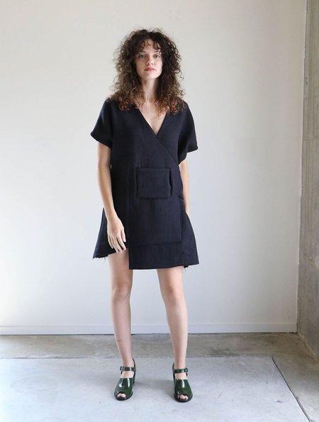 Luisa et la Luna Antoine Dress in Textured Black