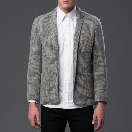 Krammer & Stoudt Lux Wool Knit Blazer - Grey