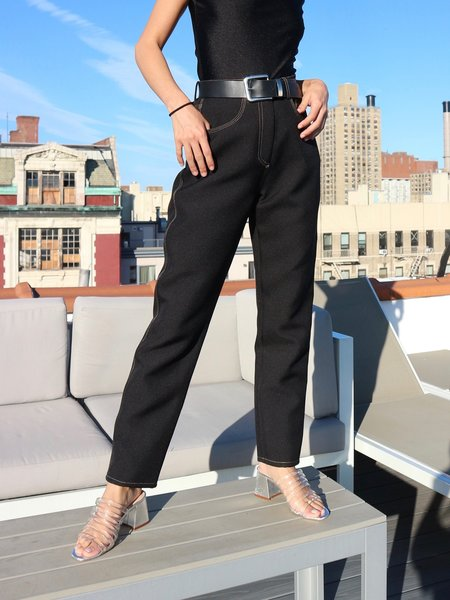 Nanushka Contrast Stitch Trousers
