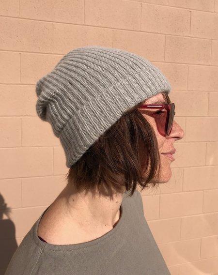 Mature Hat Pleats Knit Cap