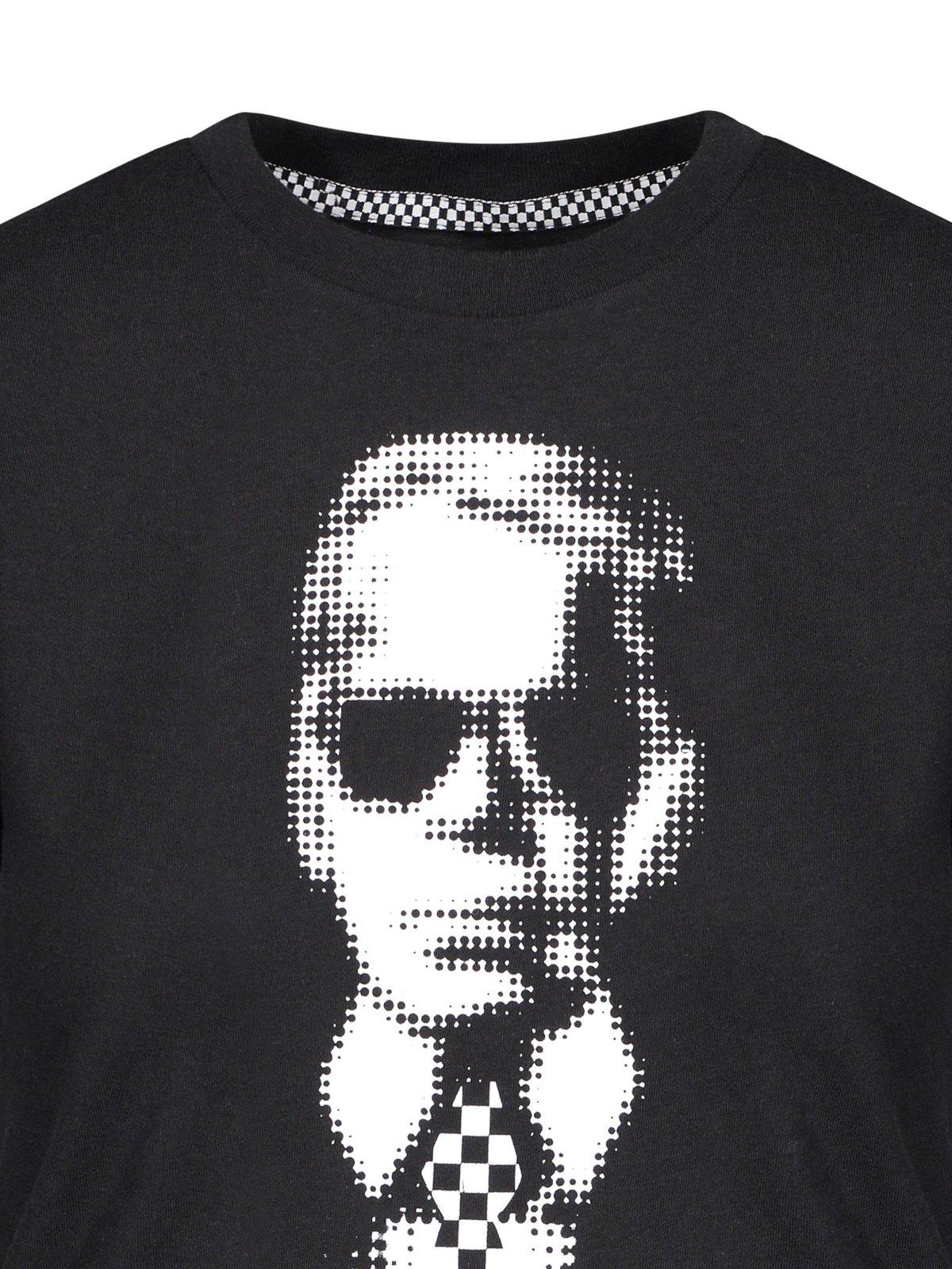 8df4cf9b2308 Vans Vault x Karl Lagerfeld Boyfriend Tee | Garmentory