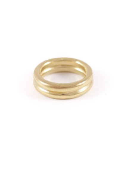 Wolf Circus Cario Ring in Gold