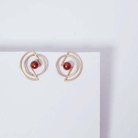 Metalepsis Projects Volten Earrings - Pearl